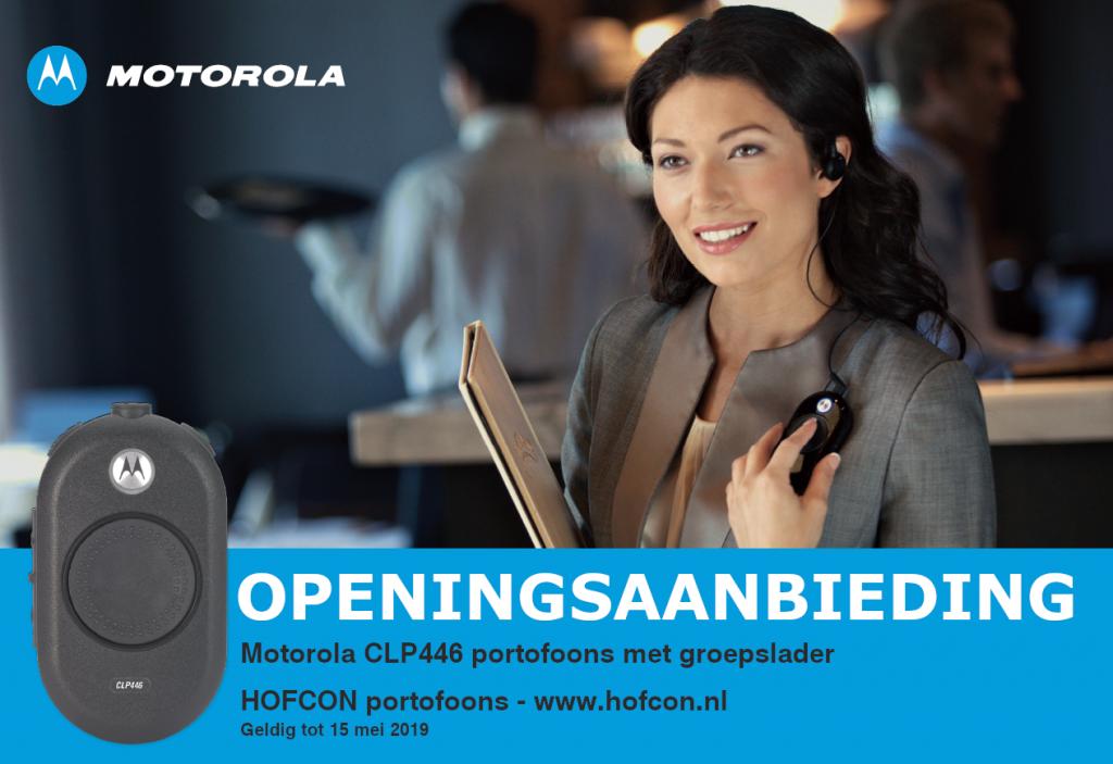 HOFCON Motorola CLP446 aanbieding